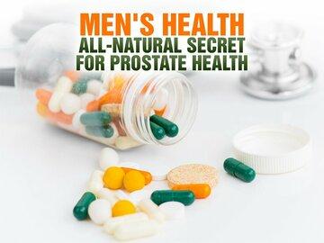 Men's Health - All-Natural Secret for Prostate Health