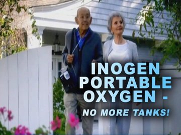Inogen Portable Oxygen - No More Tanks!