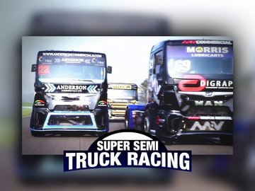 Super Semi Truck Racing