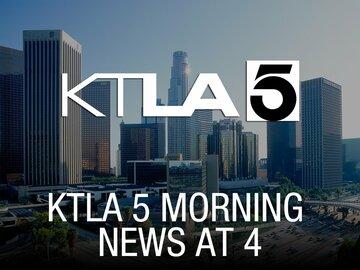 KTLA 5 Morning News at 4