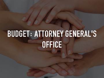Budget: Attorney General's Office