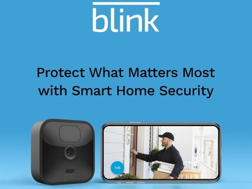 Protect what matters most with Blink home security cameras and systems