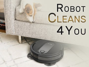 Robot Cleans 4 You