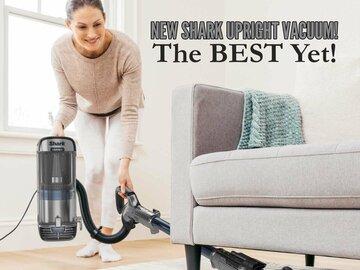NEW Shark Upright Vacuum! The BEST Yet!