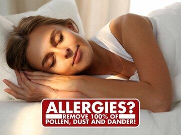 Remove 100% of Pollen & Dust!