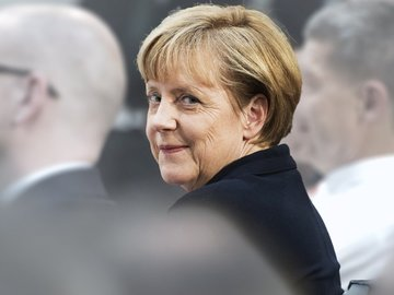 Angela Merkel -- Navigating a World in Crisis