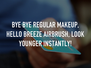 Bye Bye Regular Makeup, Hello Breeze Airbrush, Look Younger Instantly!