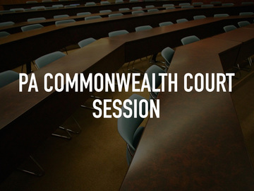 PA Commonwealth Court Session